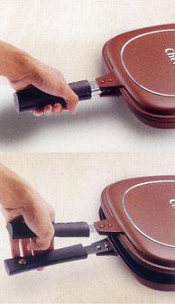 体验无烟无油的煮食新感受---Chefel Flip 'N Cook 平底锅 - ecoswaymomo - Ecoswaymomo的博客